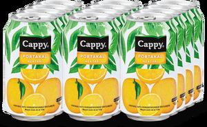 Cappy Portakal Kutu 330 ml Meyve Suyu 12 Adet