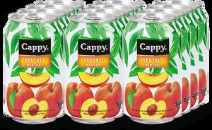 Cappy Şeftali Kutu 330 ml Meyve Suyu 12 Adet