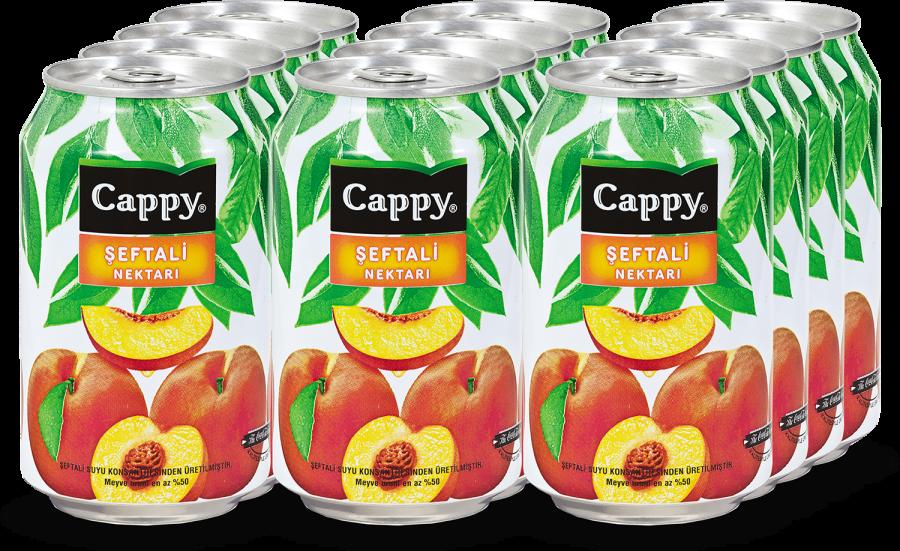 Cappy Seftali Kutu 330 Ml Meyve Suyu 12 Adet Soguk Icecekler