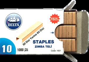 Delta 1621 No:10 Sarı Zımba Teli