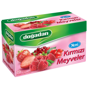 Doğadan Kırmızı Meyveler Bitki Çayı 20 Adet