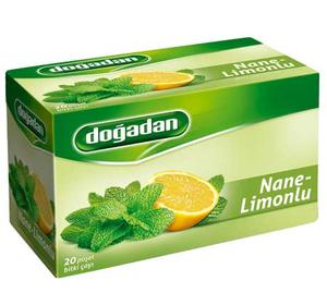 Doğadan Nane Limon Bitki Çayı 20 Adet