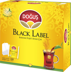 Doğuş Black Label Bardak Poşet Çay 100 Adet