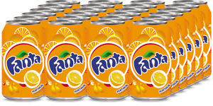 Fanta 330 ml (Kutu Kola) 24 Adet
