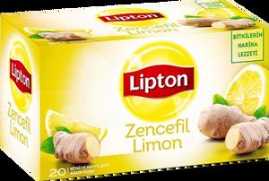 Lipton Zencefil Limon Bitki Çayı 20 Adet
