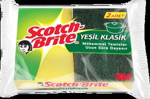 Scotch Brite Klasik Bulaşık Süngeri 2'li Paket