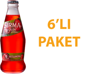 Sırma Çilekli Soda 200 ml B Vitaminli