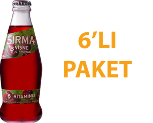Sırma Vişneli Soda 200 ml B Vitaminli