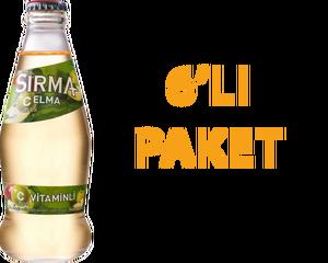 Sırma Elmalı Soda 200 ml C Vitaminli