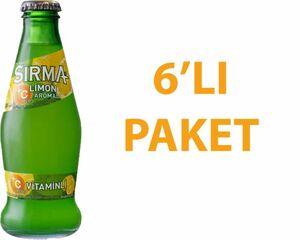 Sırma Limonlu Soda 200 ml C Vitaminli 6 Adet